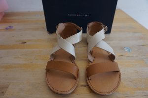 Tommy Hilfiger Strapped Sandals oatmeal-light brown leather