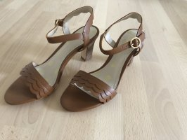 Boden Strapped Sandals brown-cognac-coloured