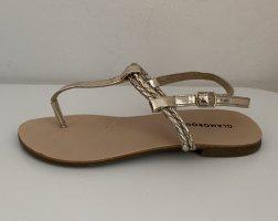 Glamorous Sandalo toe-post oro