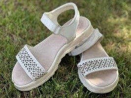 Wygodne sandały biały
