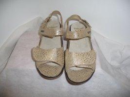 Fidelio Sandalo comodo argento-oro Pelle