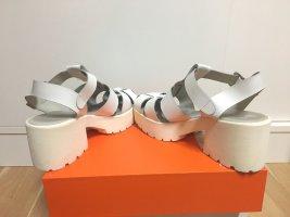 Kauf Dich Glücklich Plateauzool sandalen wit-licht beige