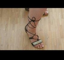 Graceland Sandalen met bandjes en hoge hakken veelkleurig