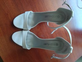 Bodyflirt Hoge hakken sandalen wit