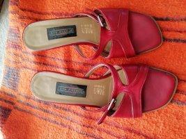 5th Avenue Hoge hakken sandalen rood