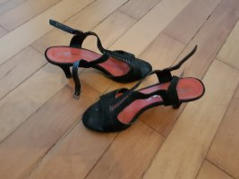 Tamaris Strapped High-Heeled Sandals black
