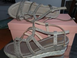 Alma en Pena Platform High-Heeled Sandal light grey