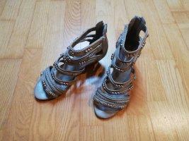 Gin Tonic T-Strap Sandals light grey