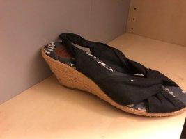 Sandalette wedges
