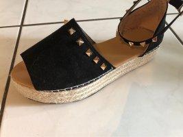 Sandalette wedges Sandale