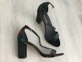 Steve Madden Strapped High-Heeled Sandals multicolored mixture fibre