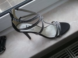 BC Collection High Heel Sandal black-silver-colored