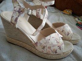 Sandaletten Damen Blumen