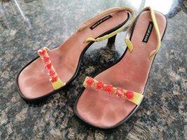Sandaletten DKNY 90er style Pailletten