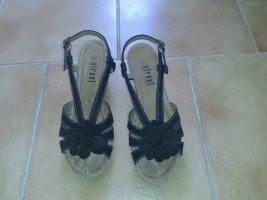 Sandaletten dunkelblau, Größe 39