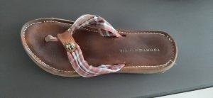 Sandaletten,  Echtleder, tommy Hilfiger,  38