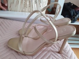 Bebo Hoge hakken sandalen goud