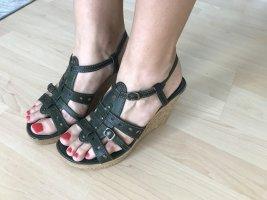 Sandaletten in grün