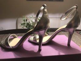 Sandaletten in Silber von Kate Gray