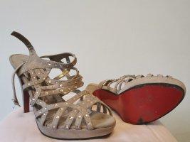 Berta Hoge hakken sandalen room-nude