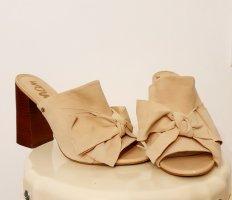 Sam edelman High Heel Sandal oatmeal-beige leather