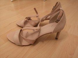 Sandaletten, Pumps, rosa von Zign, gr.41, neu, Lederschuhe