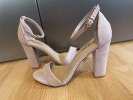 Sandaletten rosé - Gr. 38,5 - v. JustFab