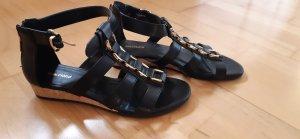 Sandaletten schwarz Gr.38 Neu