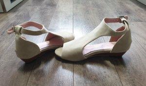 Sandalleten hellbeige