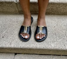 Comfort Sandals black-white