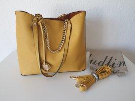 Sandbraune Handtasche zum Umhängen (Dudlin)