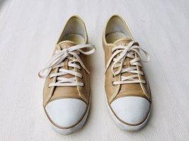 Sandfarbener Sneaker von Esprit
