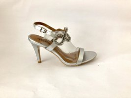 Sandrine High Heel Sandal silver-colored