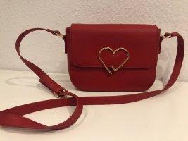 Sandrine Stylische Schultertasche Rot Neuwertig