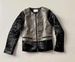Sandro Paris Faux Leather Jacket multicolored