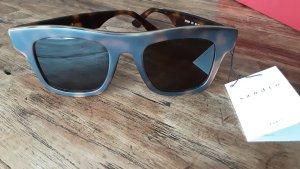 Sandro Kwadratowe okulary przeciwsłoneczne brązowy-ciemnobrązowy