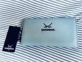 Sansibar Portemonnaie Neu Etikett Babyblau Blau Geldbörse Sylt