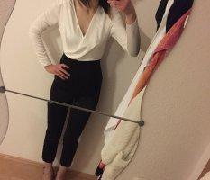 Missguided Langer Jumpsuit bianco-nero