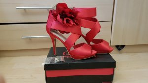 Buffalo girl High Heel Sandal red
