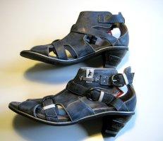 Schaft Pumps Sandalette Größe 39 MUSTANG Blau