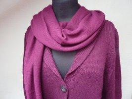 Iris von Arnim Cashmere Scarf blue violet cashmere