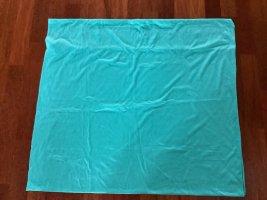 Écharpe ronde vert menthe-turquoise