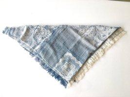 Zara Gebreide sjaal veelkleurig Katoen