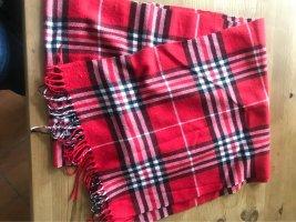 no name Gebreide sjaal veelkleurig