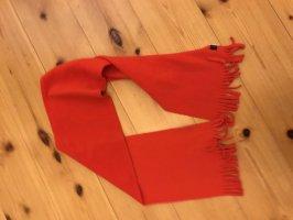 Écharpe à franges rouge