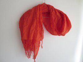 Marc O'Polo Zomersjaal oranje Katoen