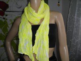 tchibo Neckerchief white-yellow