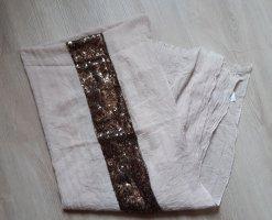 keine Marke Sciarpa estiva bronzo-beige