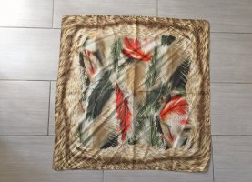 Schal in orange-grün von Basler, 87x87 cm