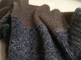 Cavalli Gebreide sjaal grijs-bruin-donkergrijs Wol